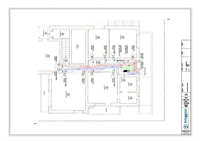 Disegni e progetti arieggiare for Impianto condizionamento canalizzato