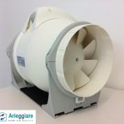 Ventilatore elico-centrifugo in linea per condotte