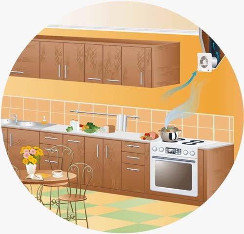 Ventilatori aspiratori per piccoli ambienti arieggiare - Aspiratori per cucina ...